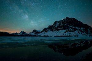 snow canada landscape