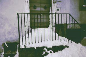 snow house winter