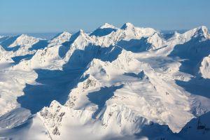 snow nature landscape mountains