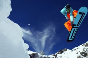 snowboards snow snowboarding