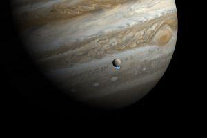 solar system space europa planet jupiter moon