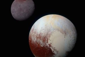 solar system universe pluto astronomy charon space