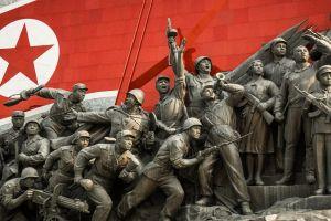 soldier military north korea statue propaganda monument monuments