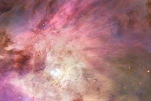 space art space colorful nebula multiple display digital art