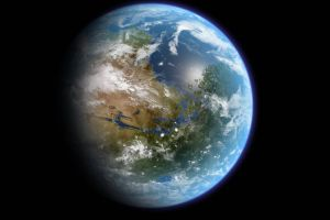 space earth planet