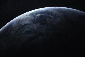 space earth shadow