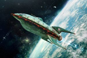 space futurama planet express planet express