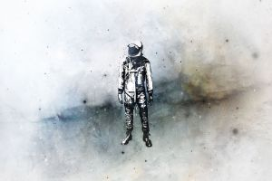 space isolation astronaut alone