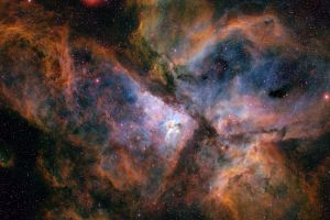 space nebula carina nebula stars