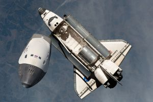 space shuttle discovery nasa fakes photo manipulation