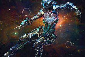 space spacesuit science fiction