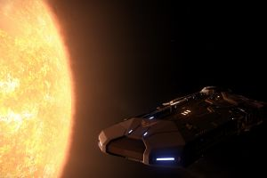 space sun video games science fiction elite: dangerous