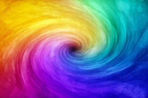 spiral abstract colorful