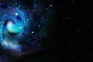 spiral galaxy space colorful space art galaxy stars digital art