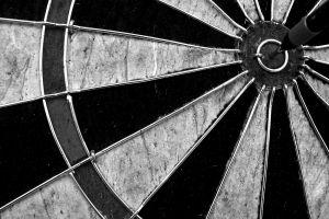 sports darts symmetry monochrome circle