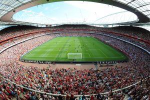 stadium soccer arsenal london people
