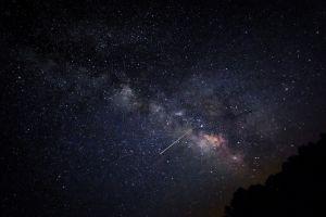 star trails night sky night sky
