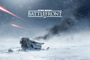 star wars: battlefront ea dice wreck lucasarts hoth video games snow star wars battle of hoth