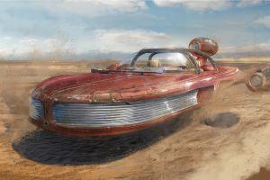 star wars landspeeder vehicle