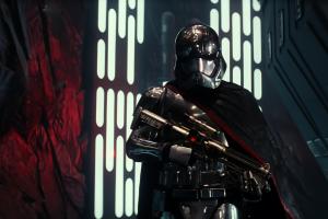 star wars: the force awakens captain phasma movies blaster star wars villains the new order (star wars) star wars