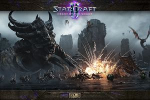 starcraft ii starcraft ii : heart of the swarm pc gaming video games blizzard entertainment