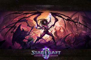 starcraft ii starcraft ii : heart of the swarm video games sarah kerrigan