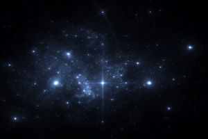 stars blue abyss