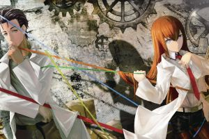 steins;gate okabe rintarou time travel makise kurisu