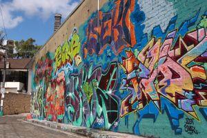street urban wall graffiti