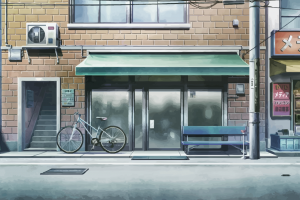 street vehicle steins;gate urban bicycle anime