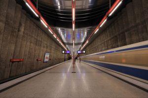 subway train train station germany
