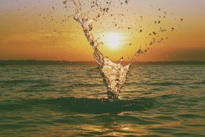 sun summer water