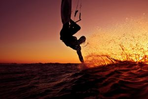 sun surfing sport  sea