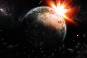 sun universe earth