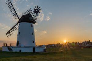 sun windmill town