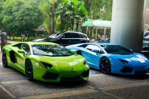 supercars car blue cars green cars vehicle