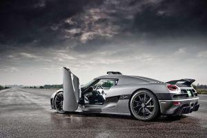 supercars silver cars vehicle koenigsegg agera car