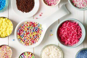 sweets food sprinkles colorful