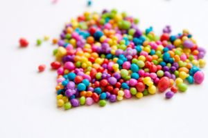 sweets heart (design) love colorful food
