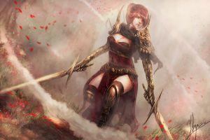 sword anime fantasy girl fantasy art anime girls