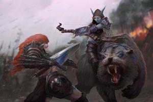 sylvanas windrunner warrior heroes of the storm