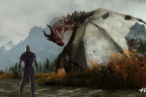 tamriel dragon the elder scrolls v: skyrim