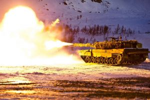 tank norwegian army military leopard 2