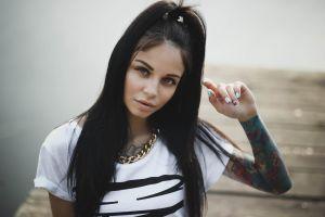 tattoo portrait women face