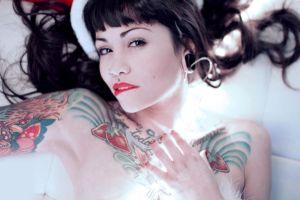 tattoo suicide girls pierced nose violetrose suicide