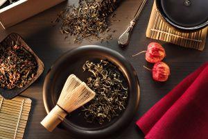 tea still life food