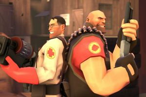team fortress 2 heavy (charater) medic