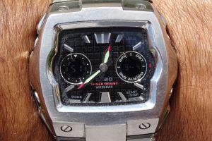 technology casio watch