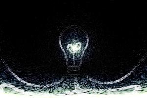technology digital art artwork lamp