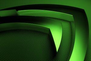 technology nvidia logo computer metal gpus